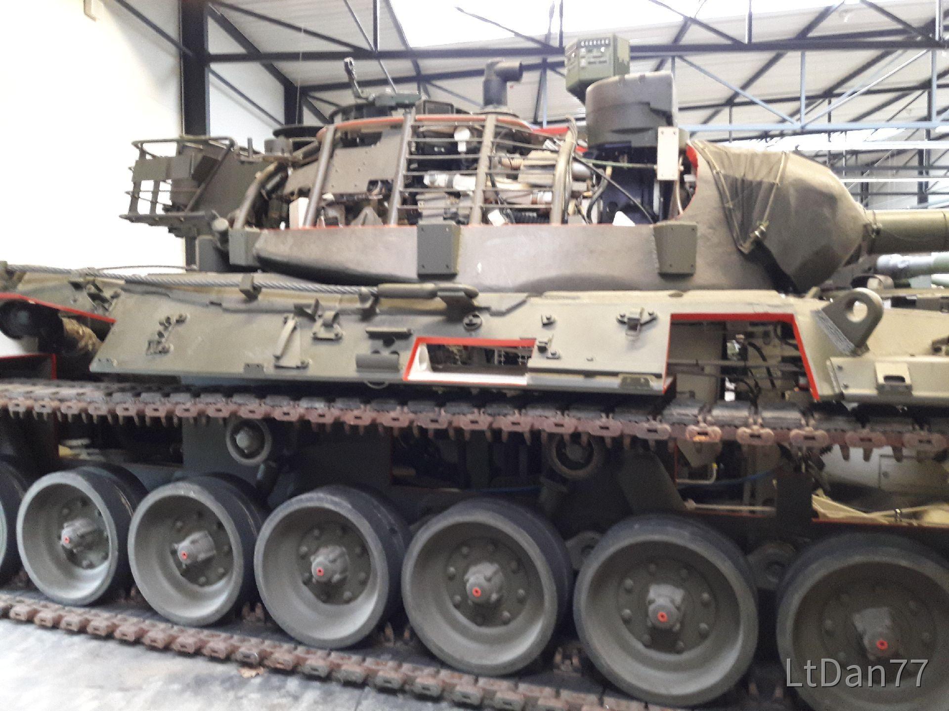 Leopard 1 Schnittmodell