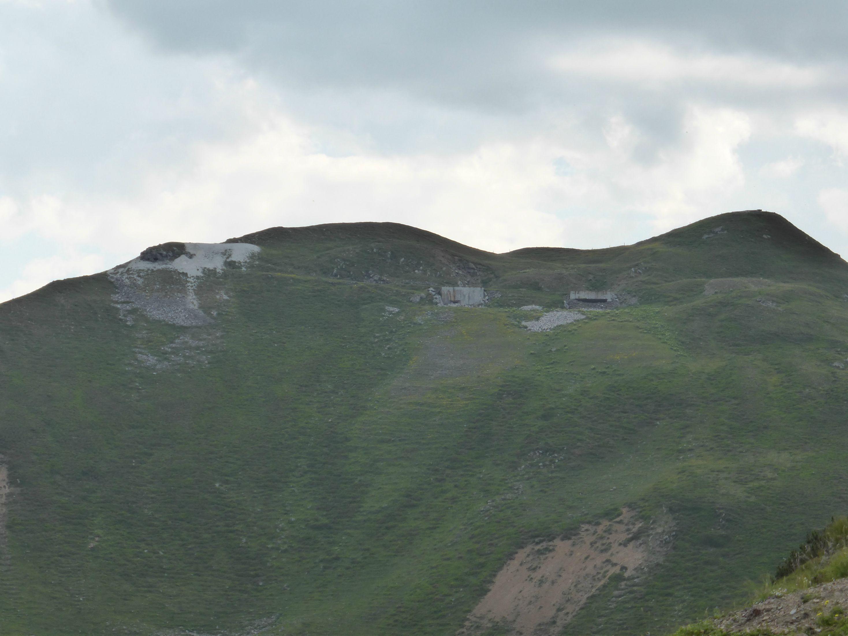 Brenner Grenzkammstrasse >2000 Meter ü. NN