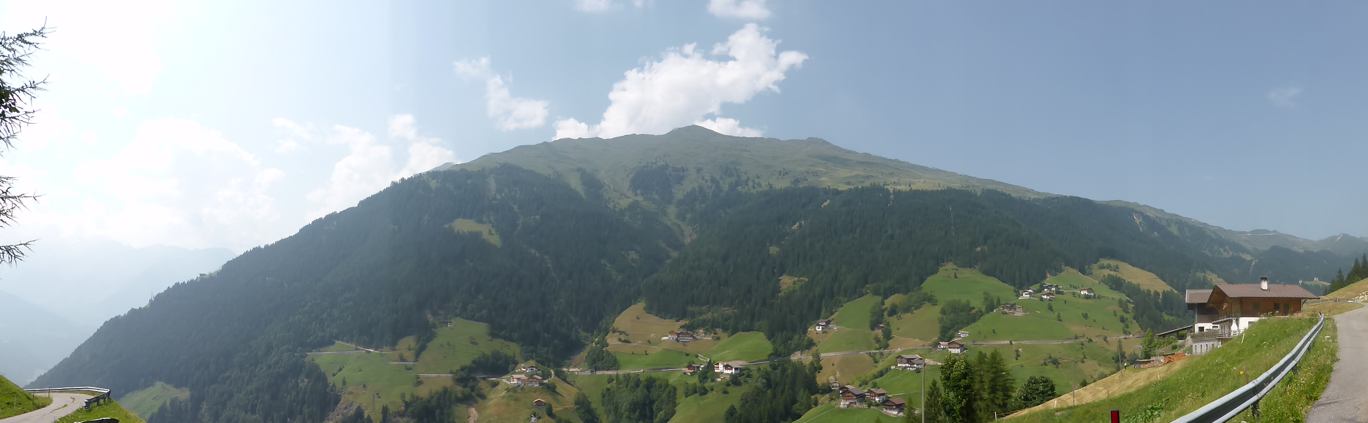 Richtung Passeiertal  St. Leonhard
