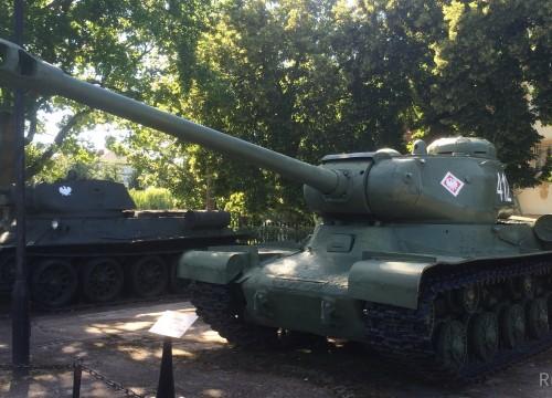 IS2 im Museum für schwere Waffen in Kolberg