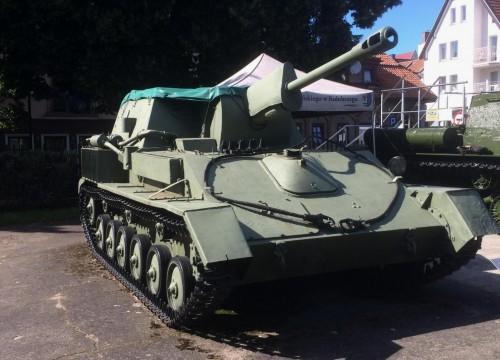 SU 76 im Museum für schwere Waffen in Kolberg