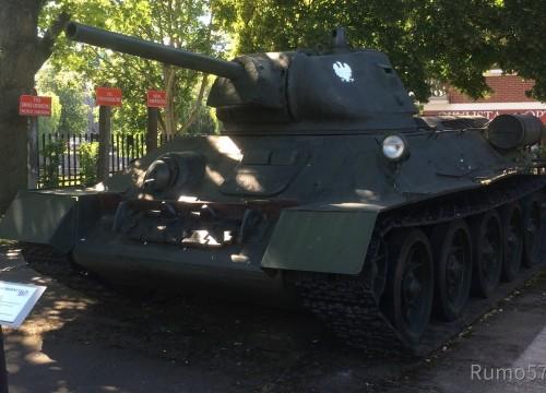 T34-75 im Museum für schwere Waffen in Kolberg