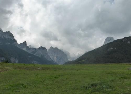 Brenta vom Molvenasee aus gesehen