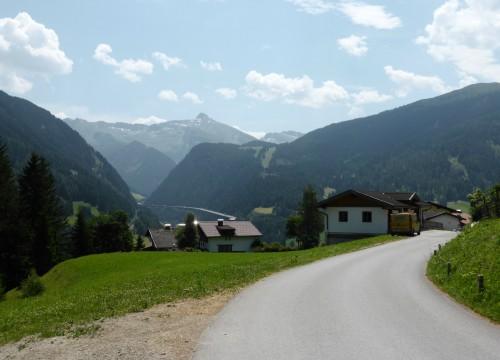 auf dem Weg Richtung Sattelberg