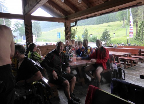 Regen am Gampenpass